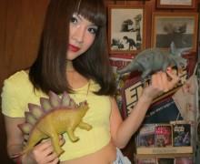 China dinosaur models