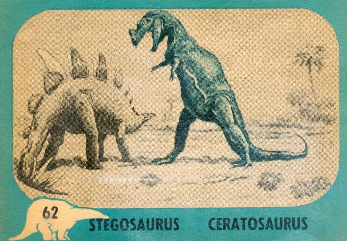 Dinosaur Series trading card