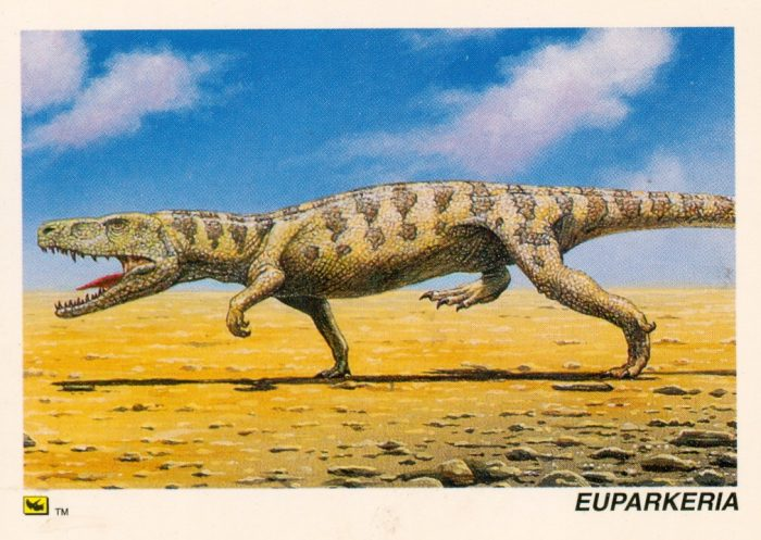 Euparkaria trading card
