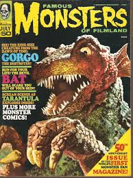 FAMOUS MONSTERS Gorgo cover
