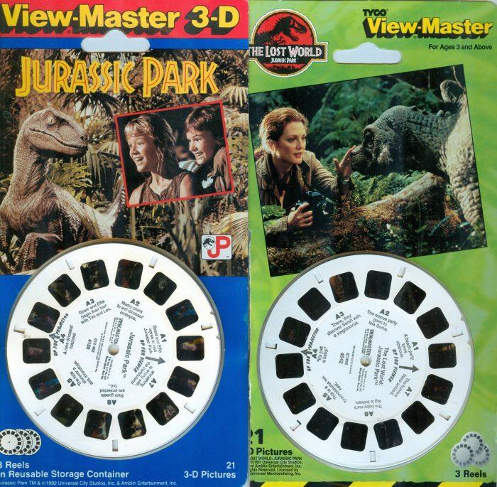 JURASSIC PARK View Masters