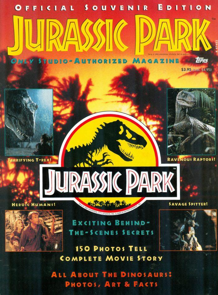 Jurassic Park magazine