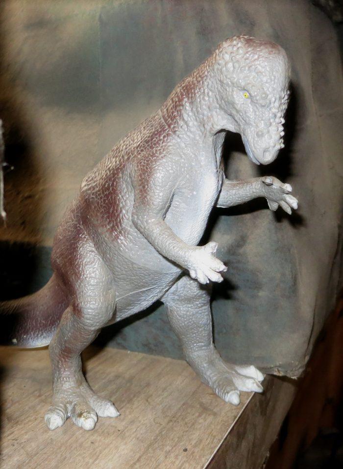 Pachycephalosaurus model