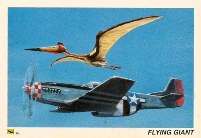 Quetzalcoatlus trading card