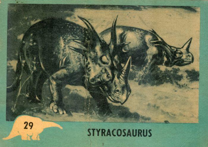 Styracosaurus Nu-Cards