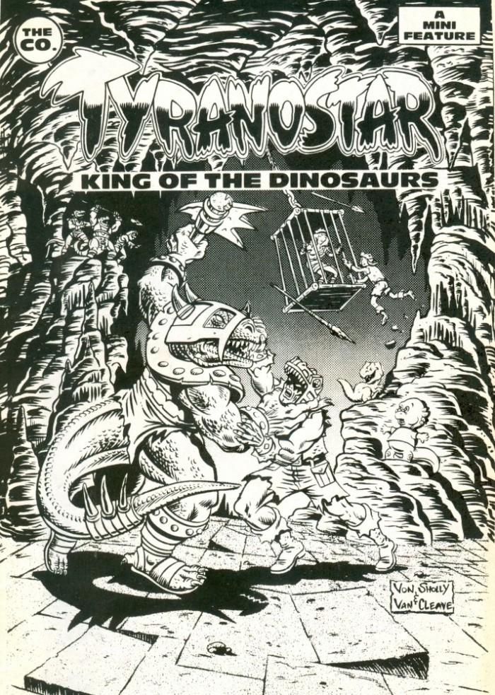 Tyrannosaur-comic-book