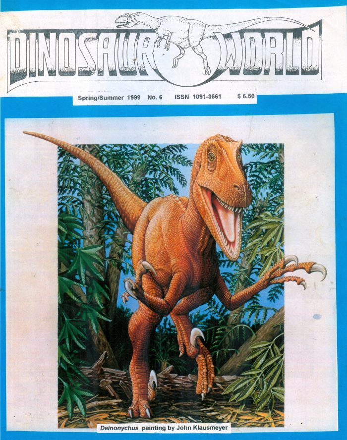 DINOSAUR WORLD magazine