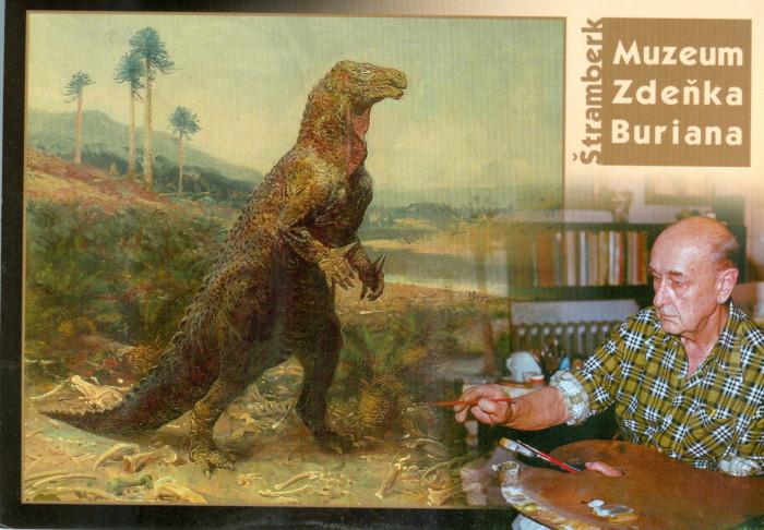 Burian Museum postcard