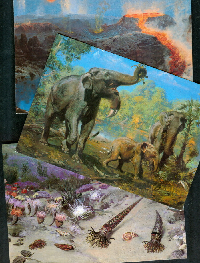 Burian paintings postcards