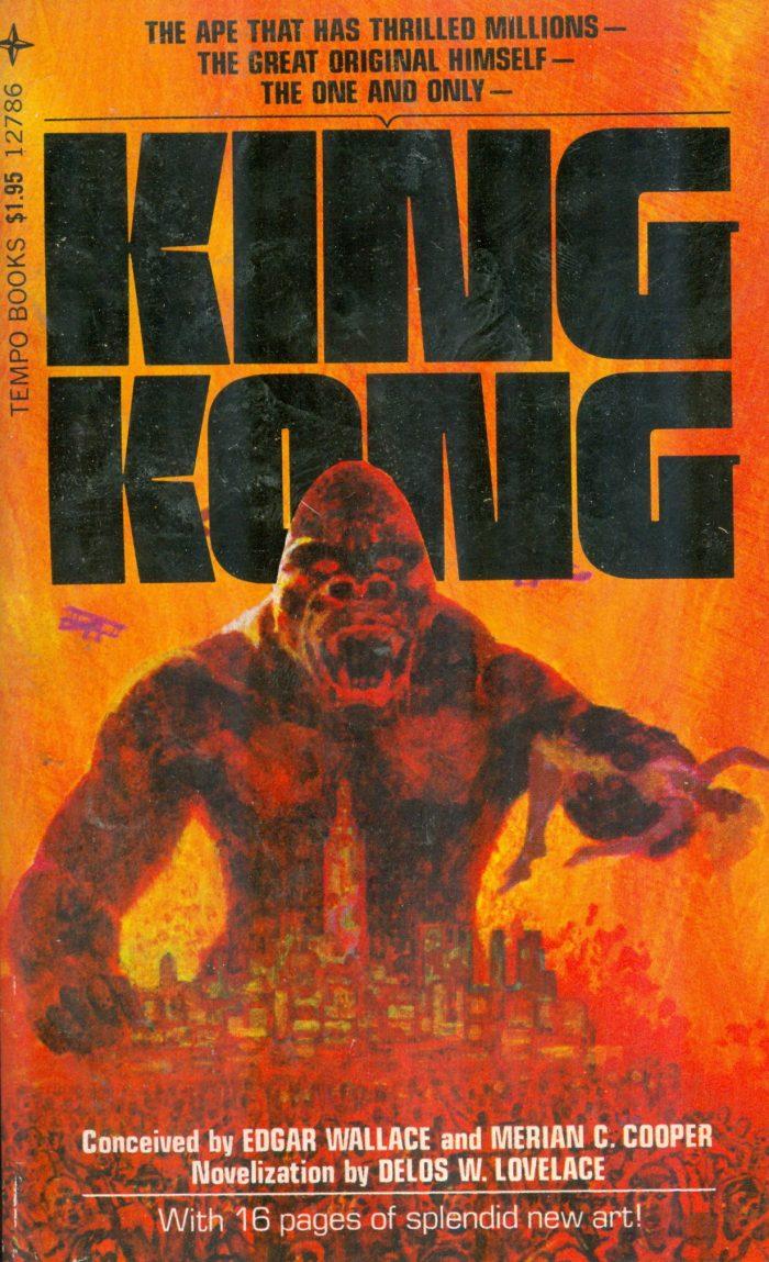 KING KONG paperback