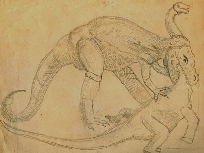 Fritz Sinkovits drawing