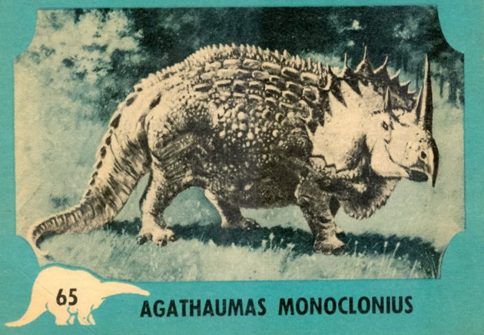 Agathaumas trading card