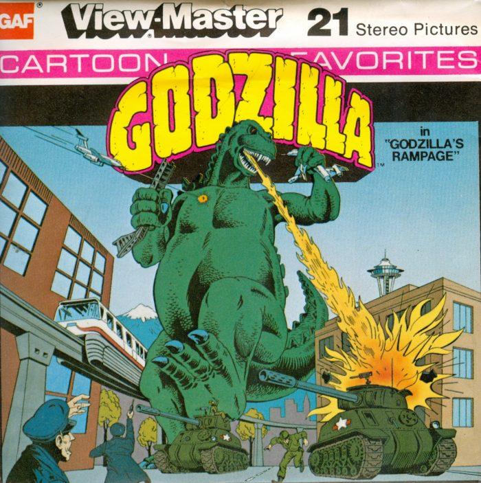 GODZILLA View Master