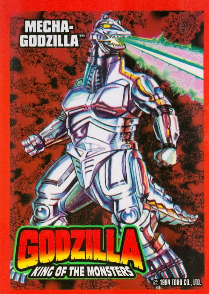 Godzilla trading card