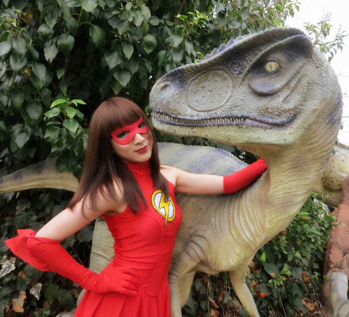Allosaurus statue