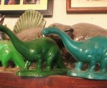 Apatosaurus figures