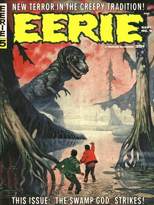 Frank Frazetta EERIE cover