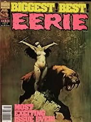 Frazetta EERIE cover