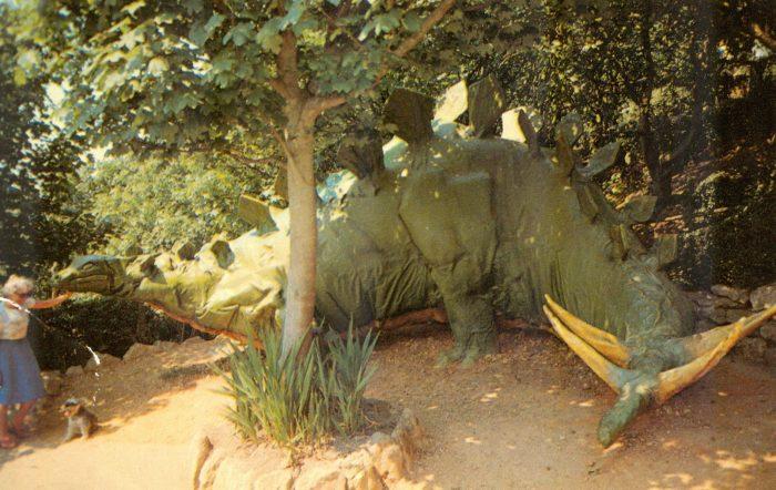Blackgang Chine Stegosaurus