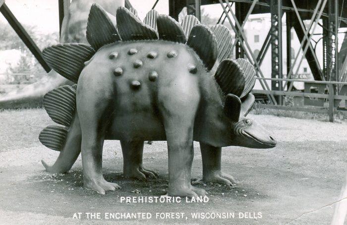 Prehistoric Land Stegosaurus
