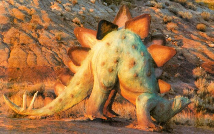 Prehistoric Parks Stegosaurus